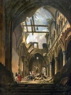 Pierre-Antoine - Demachy-Ruines de l'église des saints Innocents