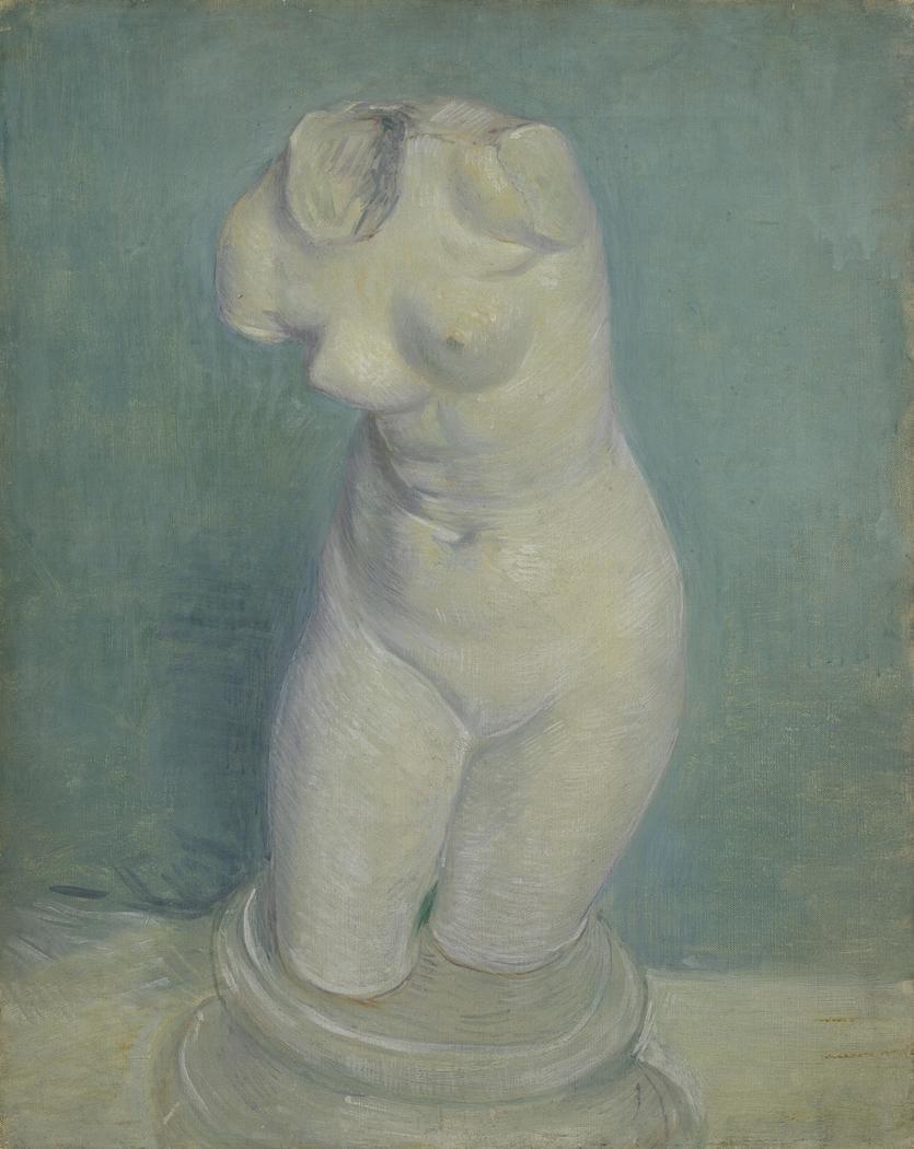 Plaster Cast of a Woman's Torso