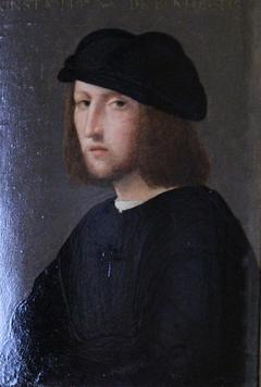 Portrait d'un homme : Constantinus de Benedictis
