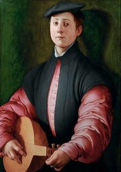 Portrait d'un joueur de luth