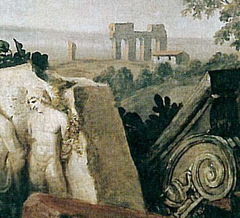 Portrait de Goethe dans la campagne romaine