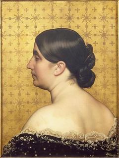 Portrait de la femme de l'artiste, née Clémence Casadavant