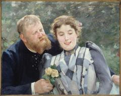 Portrait de Thaulow et sa femme