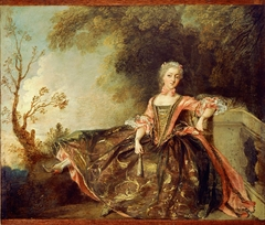 Portrait of a Dancer (Mademoiselle Marie Sallé?)