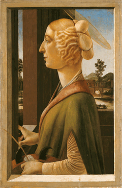 Portrait of a Lady (with the attributes of the Saint Catherine of Alexandria)
