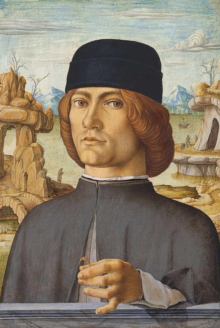 Portrait of a Man with a Ring