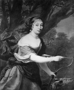 Portrait of a Woman as Diana