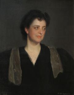 Portrait of a Woman in Black (Mrs. Howard Okie)