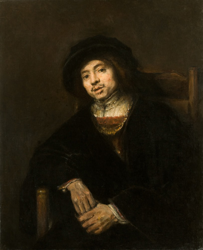 Portrait of a Young Man in an Armchair