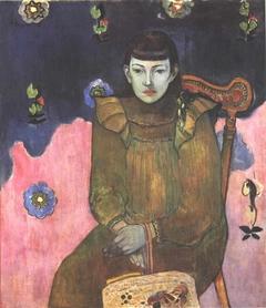 Portrait of a Young Woman. Vaïte (Jeanne) Goupil
