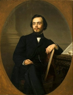 Portrait of Aleksander Waszkowski, member of the National Government in 1863