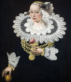 Portrait of Anna Rosina Marquart, née Tanck, wife of Johann Marquard, mayor of Lübeck