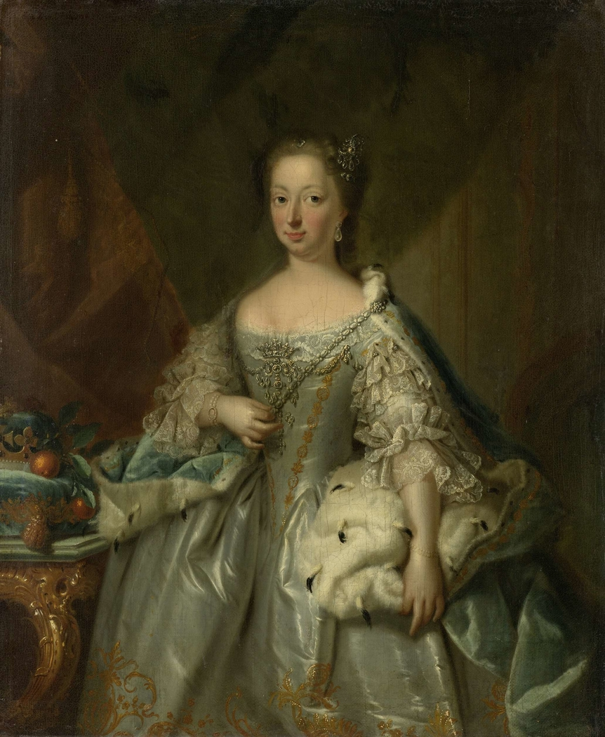 Portrait of Anne of Hanover, Princess Royal and Princess of Orange, Consort of Prince William IV