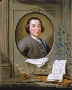 Portrait of Anton Wilhelm Solnitz
