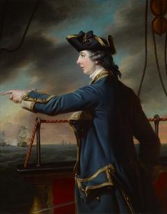 Portrait of Captain Edward Knowles, R.N. (1742-1762)