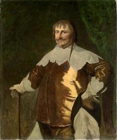 Portrait of Christian IV. Copy after Karl v. Mander