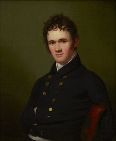 Portrait of Commander Lewis Warrington