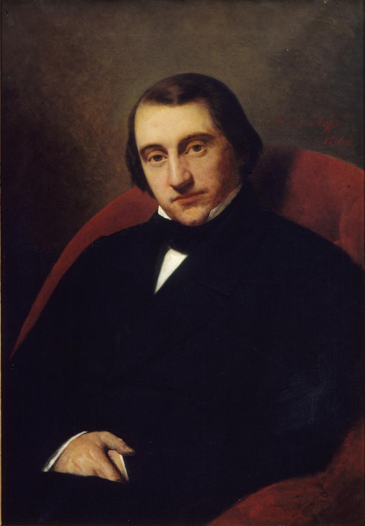 Portrait of Ernest Renan