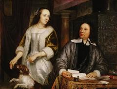Portrait of Jan Hinlopen and Leonora Huydecoper