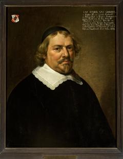 Portrait of Jan Strick van Linschoten