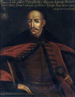Portrait of Janusz Tyszkiewicz (1570–1649), Leliwa coat of arms, voivode of Kiev
