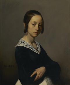 Portrait of Louise-Antoinette Feuardent
