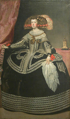 Portrait of Mariana of Austria