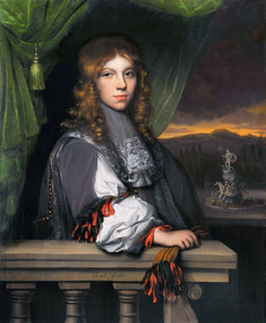 Portrait of Mattheus Elliasz. van den Broucke