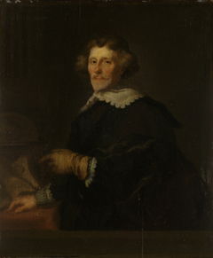 Portrait of Pieter Cornelisz. Hooft (1581-1647)
