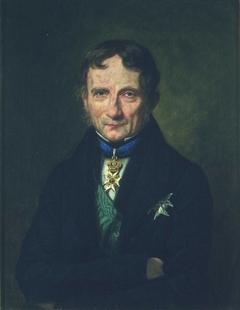 Portrait of Poul Christian Holst