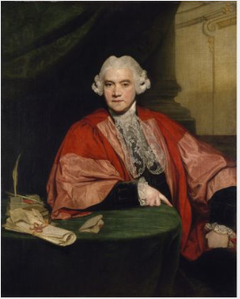 Portrait of Rt Hon. John Hely-Hutchinson (1724-1794), Provost of Trinity College, Dublin