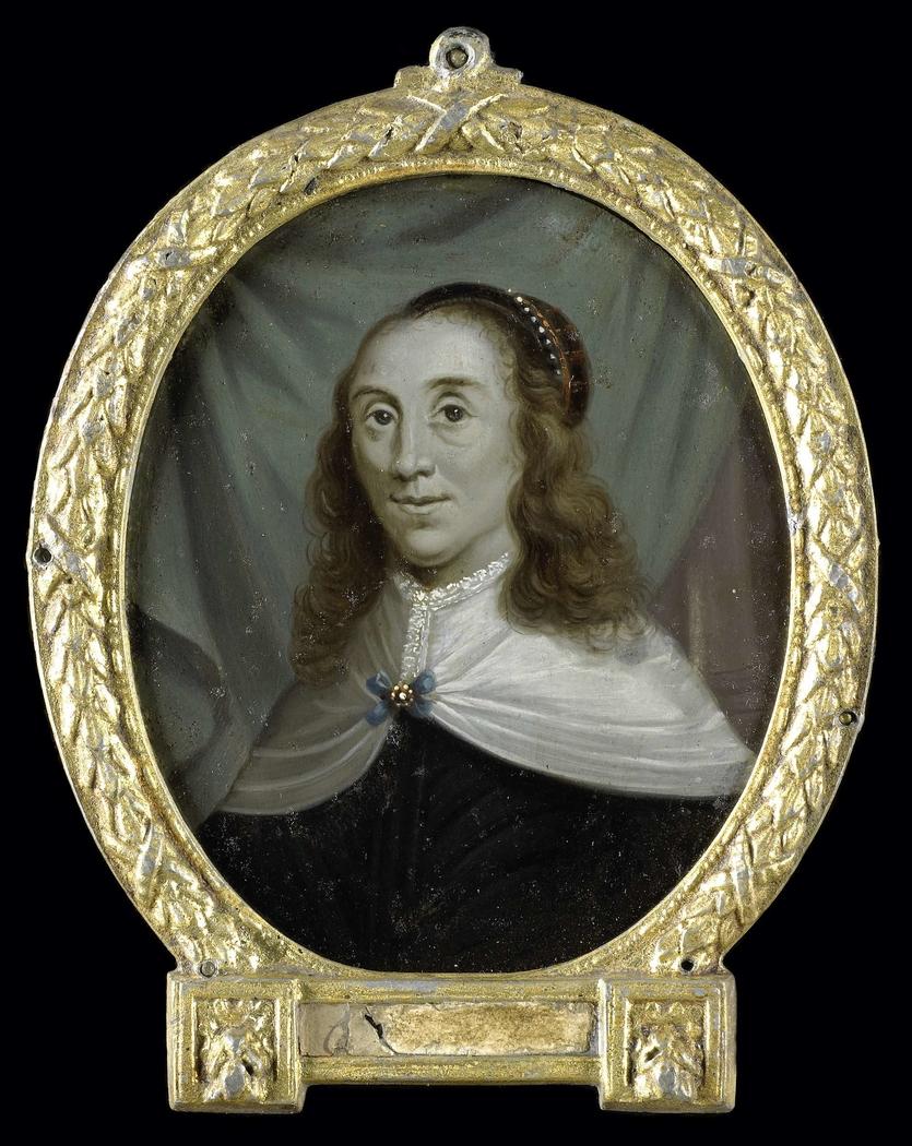 Portrait of Sibylle van Griethuysen, Poet in Groningen