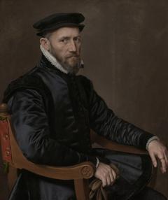 Portrait of Sir Thomas Gresham, pendant to portrait of Anne Fernely