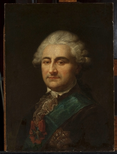 Portrait of Stanisław August Poniatowski with the Order of the White Eagle