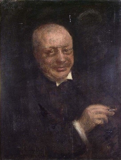 Portrait of th Author Gunnar Heiberg