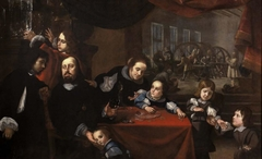 Portrait of the Gem-Cutter Dionysius Miseroni and His Family