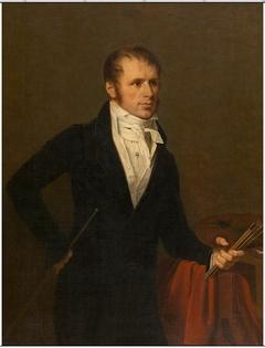 Portrait of the painter Jan Frans van Dael