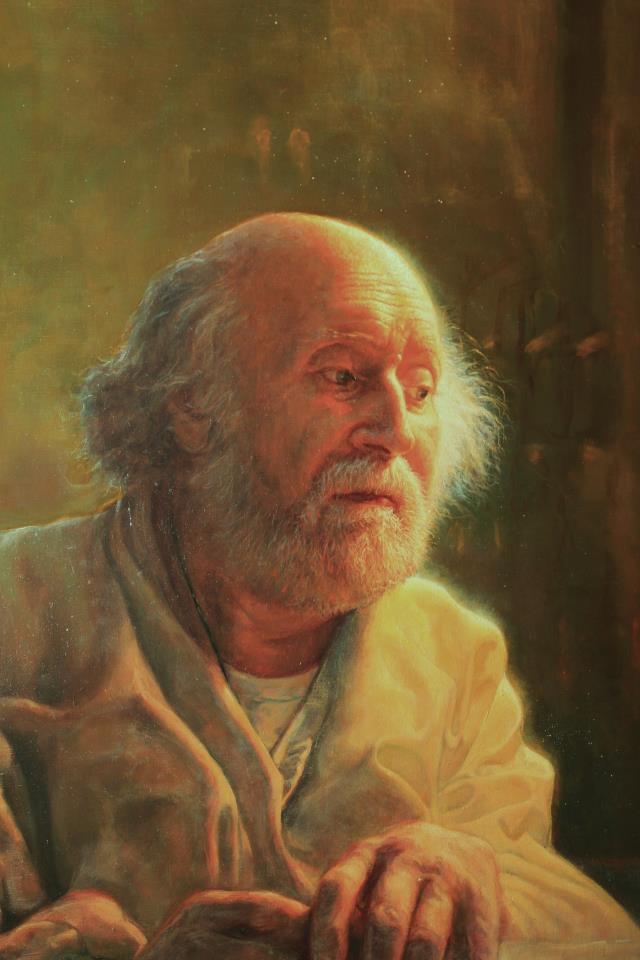Portrait of Yannis Tsarouchis