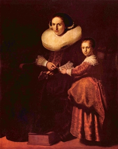 Portraits of Susanna van Collen and her Daughter Anna