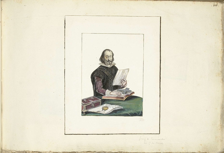 Portret van de Graaf van Peñeranda