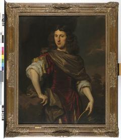 Portret van een man, mogelijk Herpert Tromp (1627-1691)