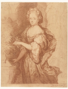 Portret van een voorname dame