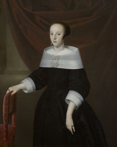 Portret van mogelijk Elisabeth van Dobben (?-1667)