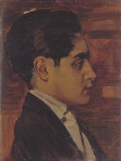 Portret van Prins Karam de Kapurthala
