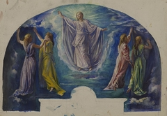 """""""Resurrection,"""" Study for the Colonel Henry Coffin Nevins Memorial Window"""