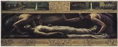 Retable Of The Saint Ines' Death