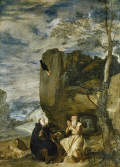 Saint Anthony Abbot and St. Paul, the first hermit