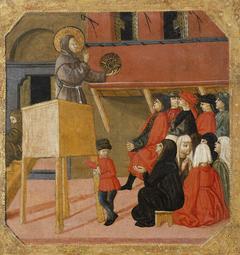 Saint Bernardino of Siena Preaching