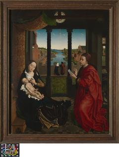 Saint Luke drawing the Madonna