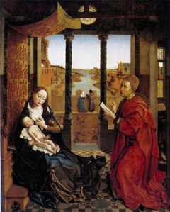 Saint Luke Drawing the Virgin